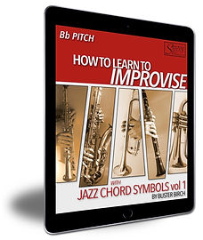 iPad-Jazz Chord Symbols vol1 Bb-1100x130