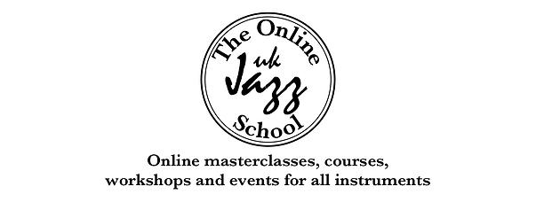 TheOnlineUKJazzSchoolLogo Banner for BB