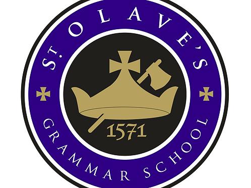 Saint Olaves School Drum Lesson Fees (Autumn Term 2021)