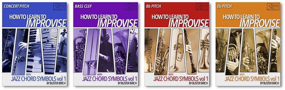 Jazz Chords v1 all 4 covers lined up v10