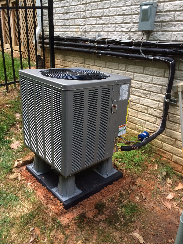 Ruud outdoor unit best a/c install