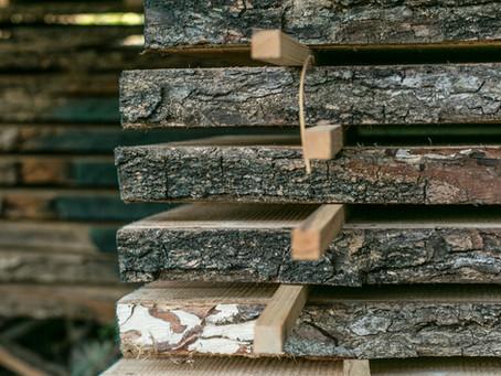 Secado de madera al aire libre / Air drying your lumber