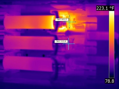 High Voltage Fuse Anomaly –Infrared Inspection