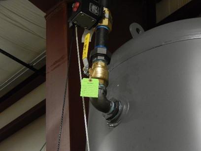 Pressure Tank Valve Leak