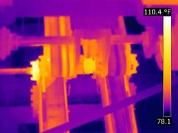 Conveyor Bearing –Infrared Inspection