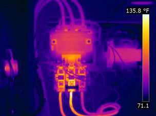 Motor Starter –Infrared Inspection