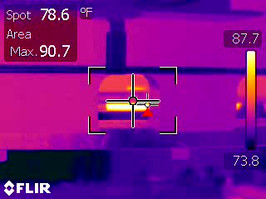 Cam Rollers –Infrared Inspection