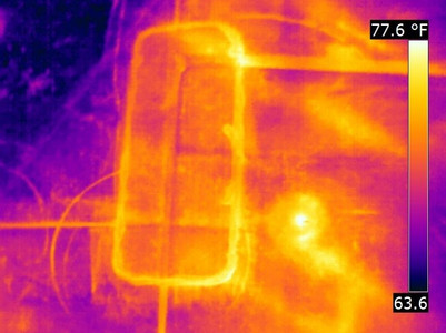 Flat Roof Inspection –Infrared
