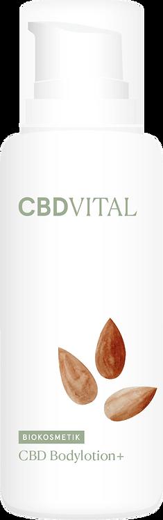 CBD Bodylotion PLUS-Reichhaltige Körperpflege