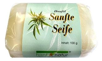Hanföl Seife sanft- besonders milde Naturseife für die tägliche Reinigung.