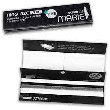 Marie Ultrafine King Size + Filter Tips