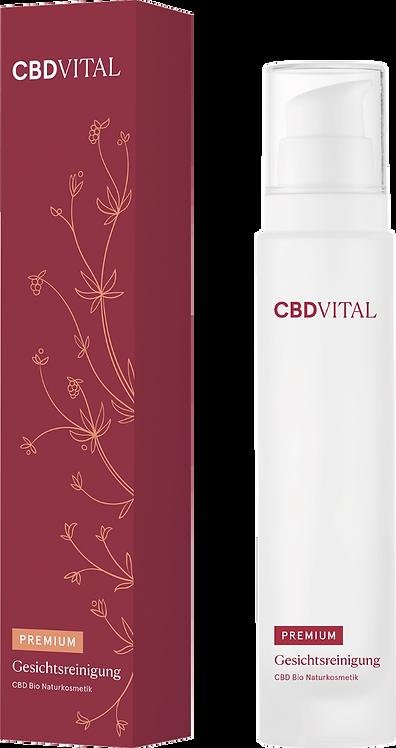CBD Bio Natur Gesichtsreinigung - Reguliert die Hautbalance- feuchtigkeitsspend