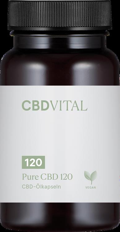 PURE CBD 120 (36%) - Kapseln