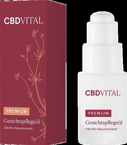 CBD Gesichtspflegeöl - Glättend, reparierend und auffüllend