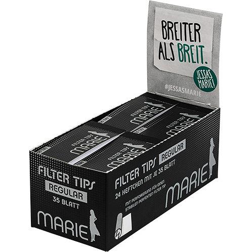 Marie Filter Tips 24 Heftchen á 35 Blatt