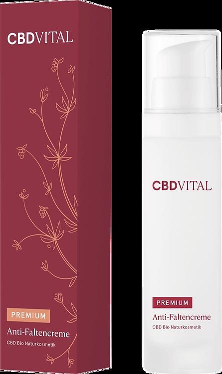CBD Anti-Faltencreme Aufpolsternd, festigend, prokollagen