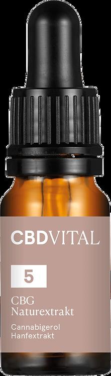 5% CBG BIO Naturextrakt PREMIUM (10ml)