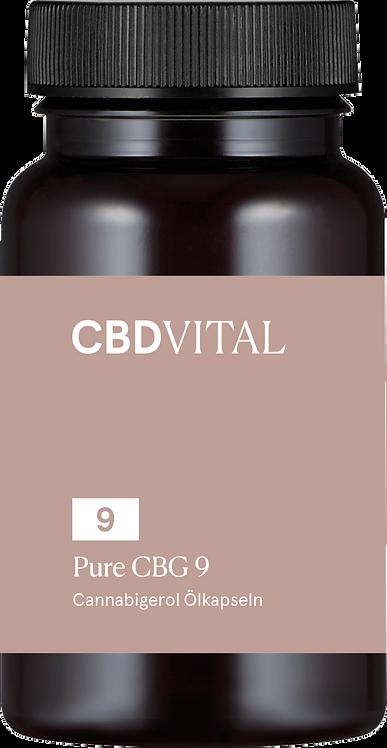 PURE CBG Öl 9 (5%) Kapseln - Schöne Haut & Wohlbefinden