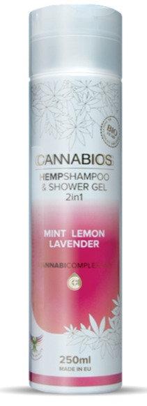 Hanf Shampoo + Duschgel unterstützt die Haut bei der Wiederherstellung