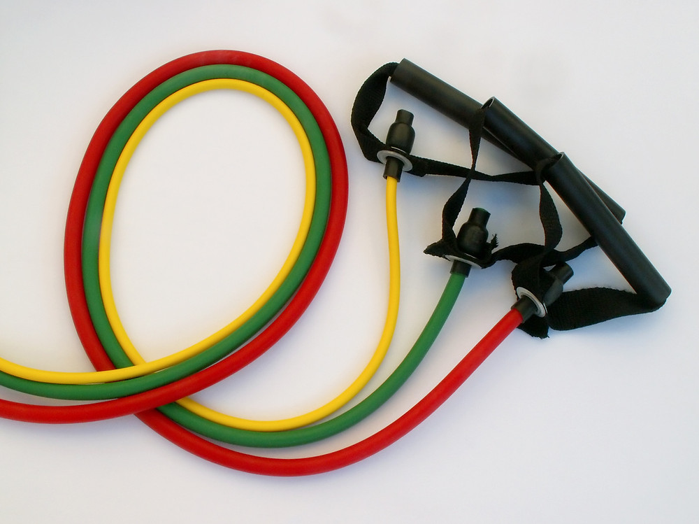 resistance bands for at home fitness