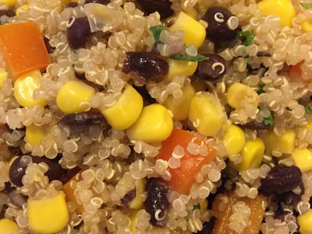Black Bean & Corn Quinoa Salad