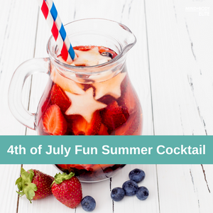 4th of July Fun Summer Cocktail