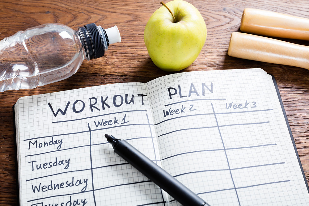 Create a fitness plan