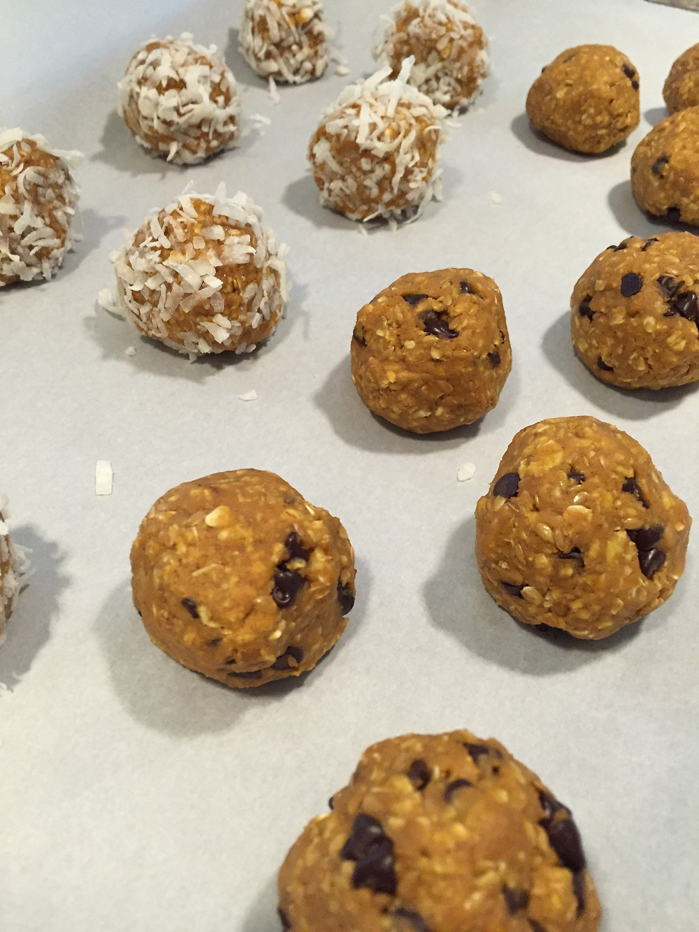 Pumpkin No Bake Energy Balls