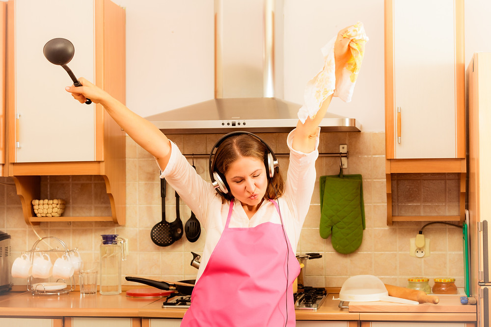 Dance while cooking