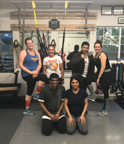 Small Group Fitness Training