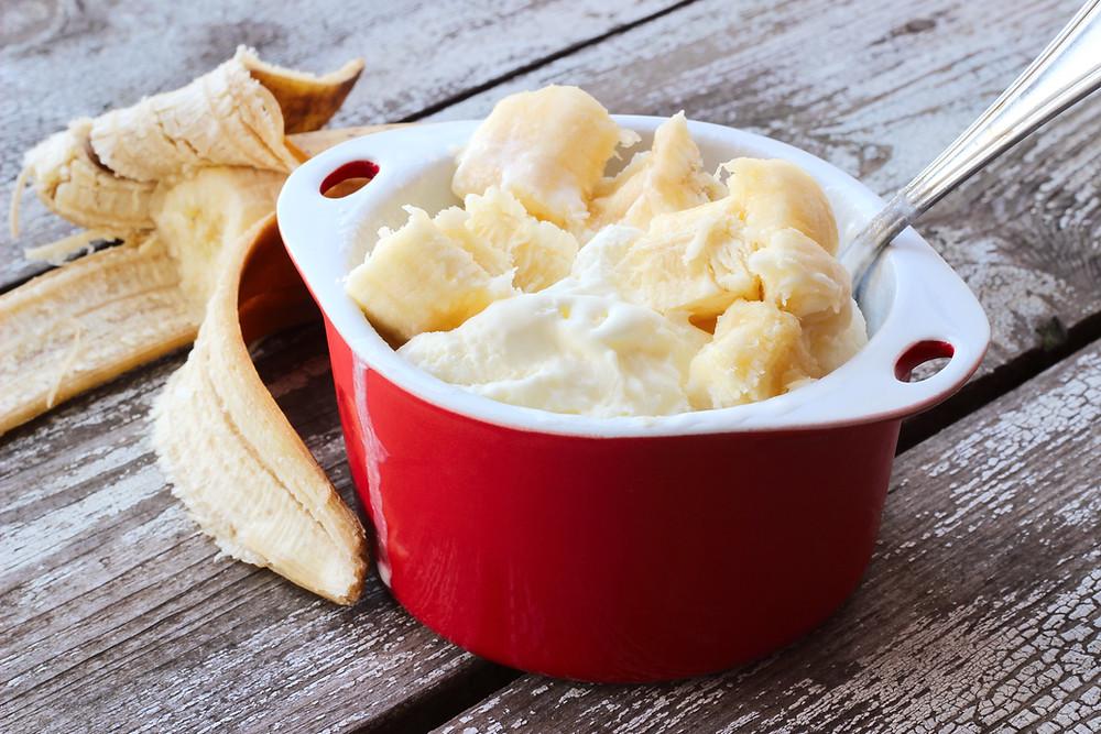 Banana Soft Serve
