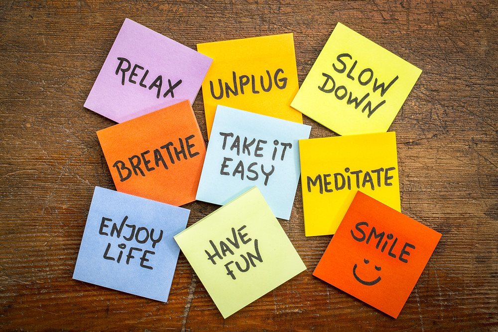 create post it notes of motivation