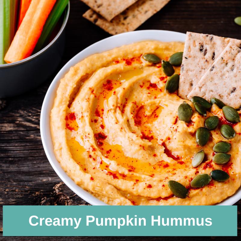 Creamy Pumpkin Hummus Recipe