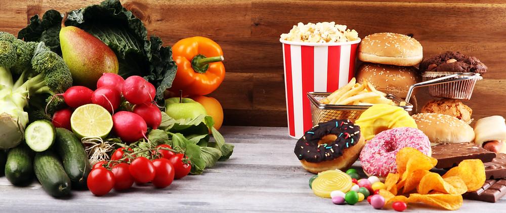 processed foods versus whole foods