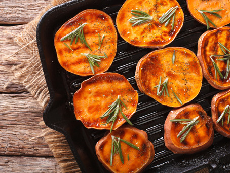 Rosemary Garlic Sweet Potato Crisps