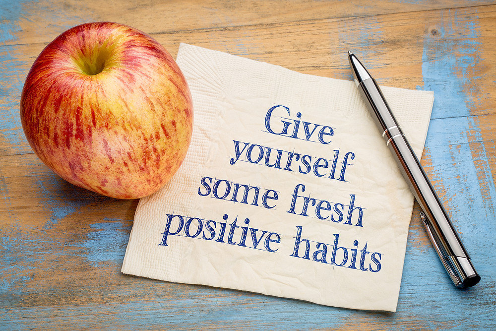 give yourself some fresh habits