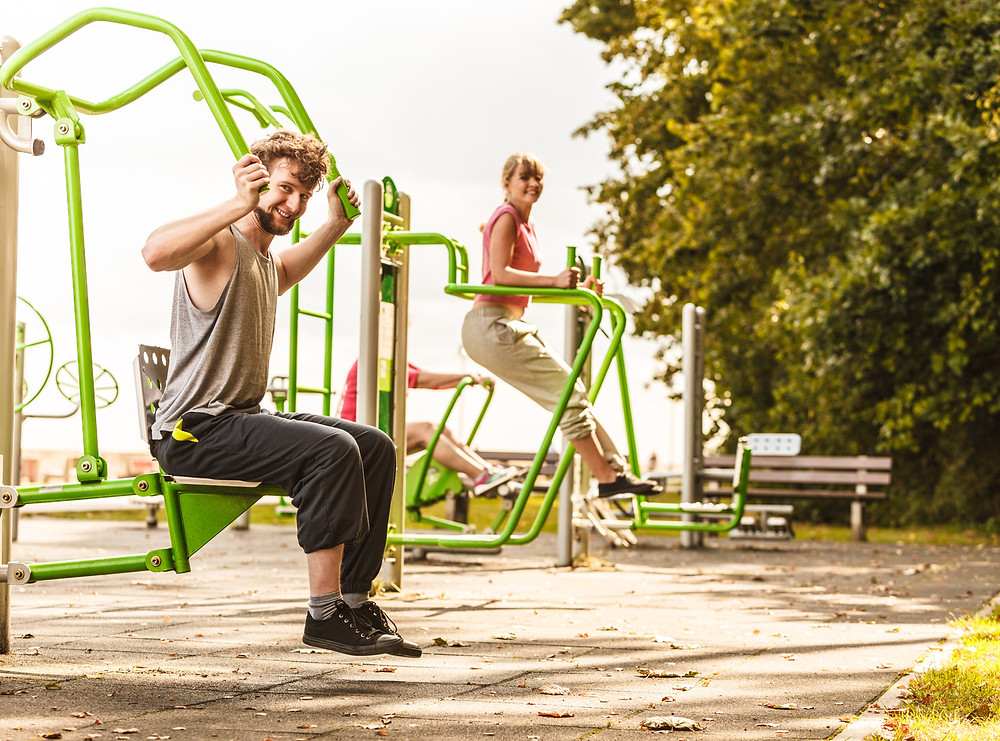 Fitness at the playground