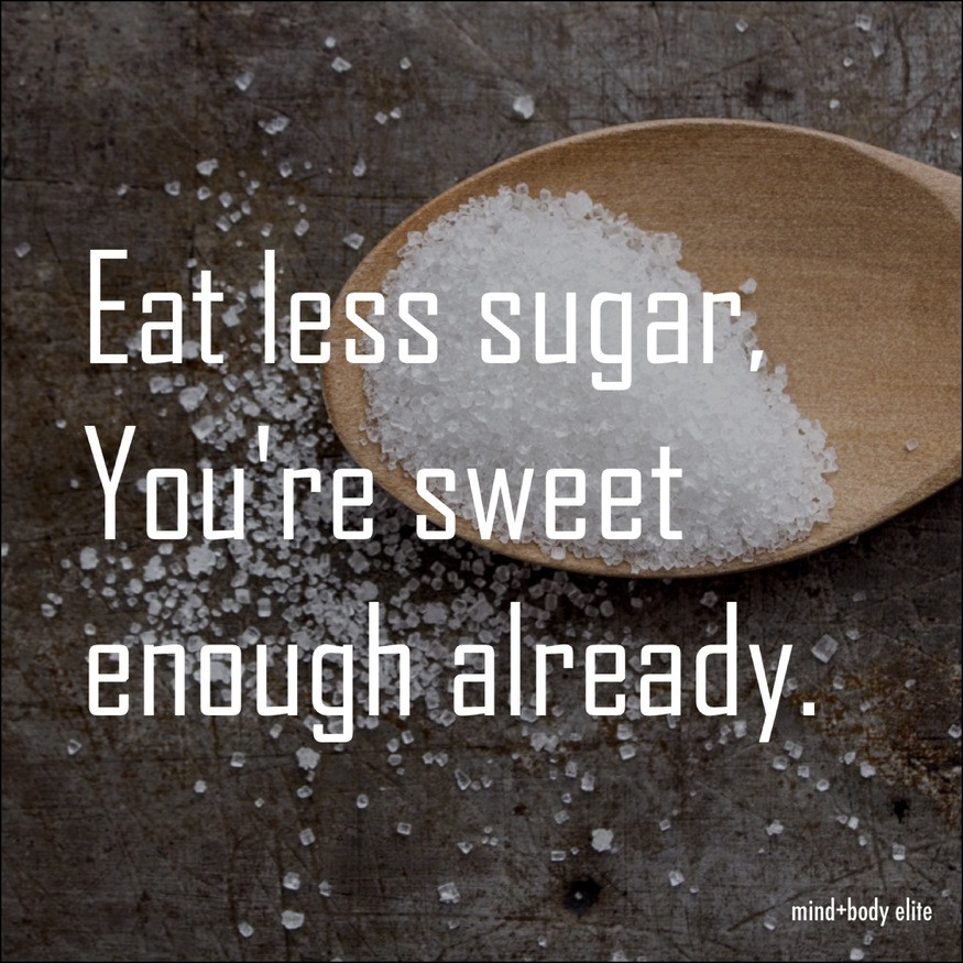 simple sugar swaps