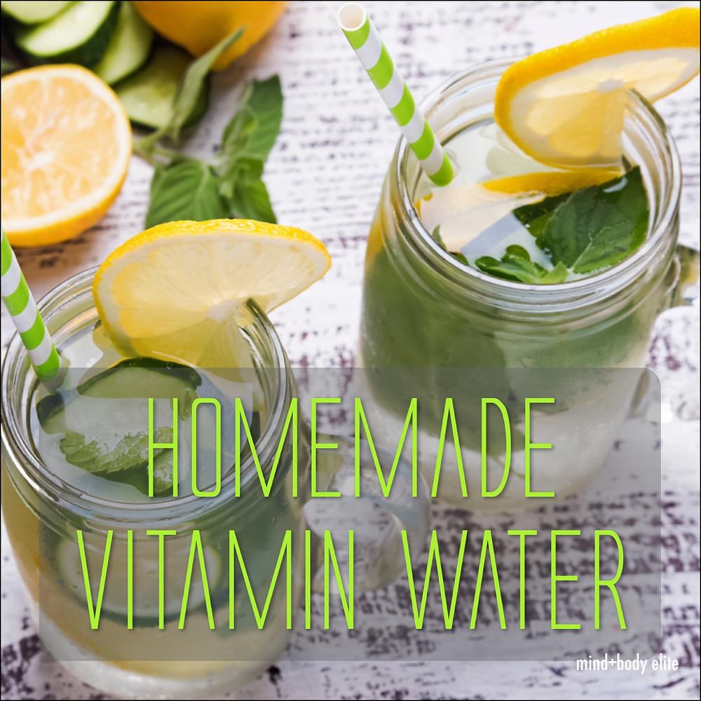 The Refresh, homemade vitamin water recipe