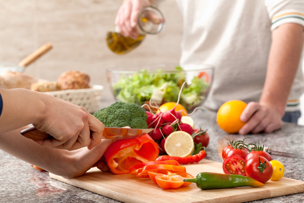 finding motivating to cook healthy meals
