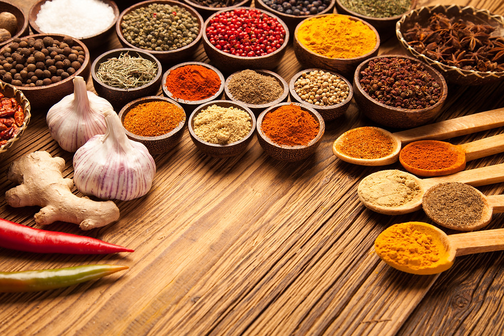 herbs and spices for your pizza