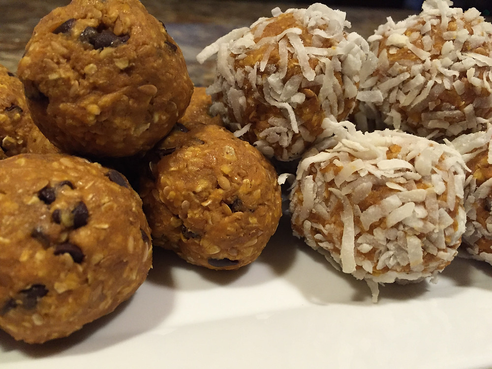 Pumpkin No Bake Energy Balls recipe