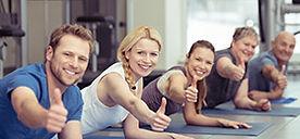 Fitnesskurse und Gesundheitskurse