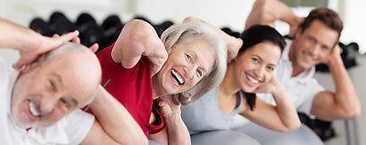 Fitnesskurse und Fitnessstudio