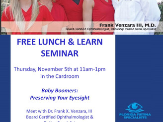 Event: Free LUNCH & LEARN this Thursday (Nov. 5) at Heritage Isle in Viera