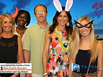 "Florida Retina Specialists attend the NKF ""Taste of Brevard"""