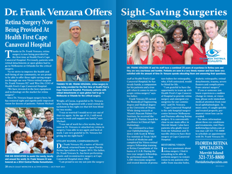 """Sight-Saving Surgeries"" -The latest article in Space Coast Medicine"