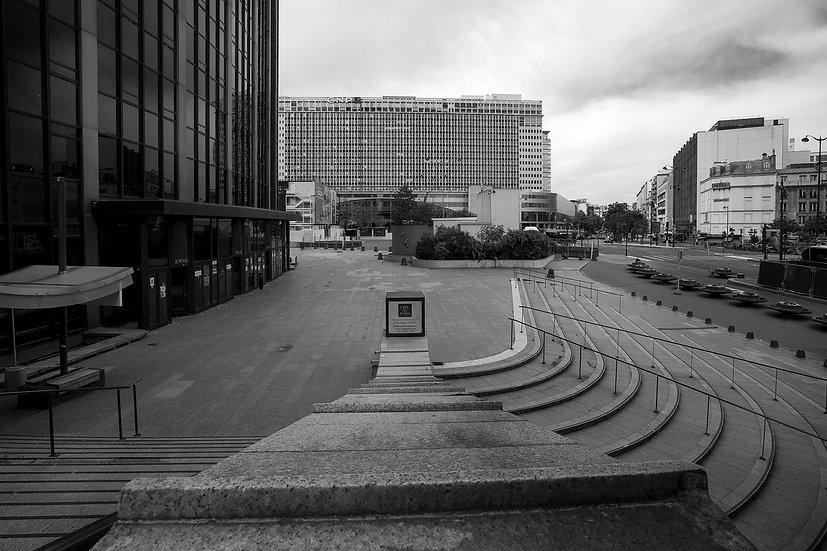 Parvis de la Tour Montparnasse