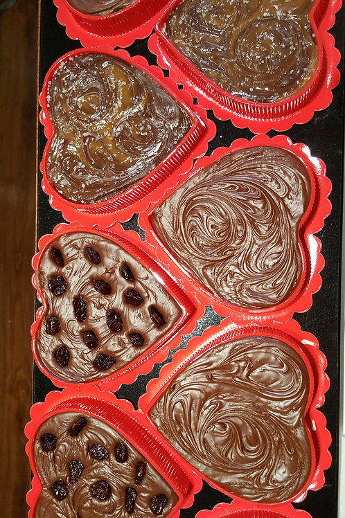 8oz. Fudge Hearts