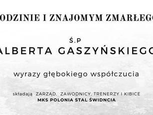 Zmarł Albert Gaszyński